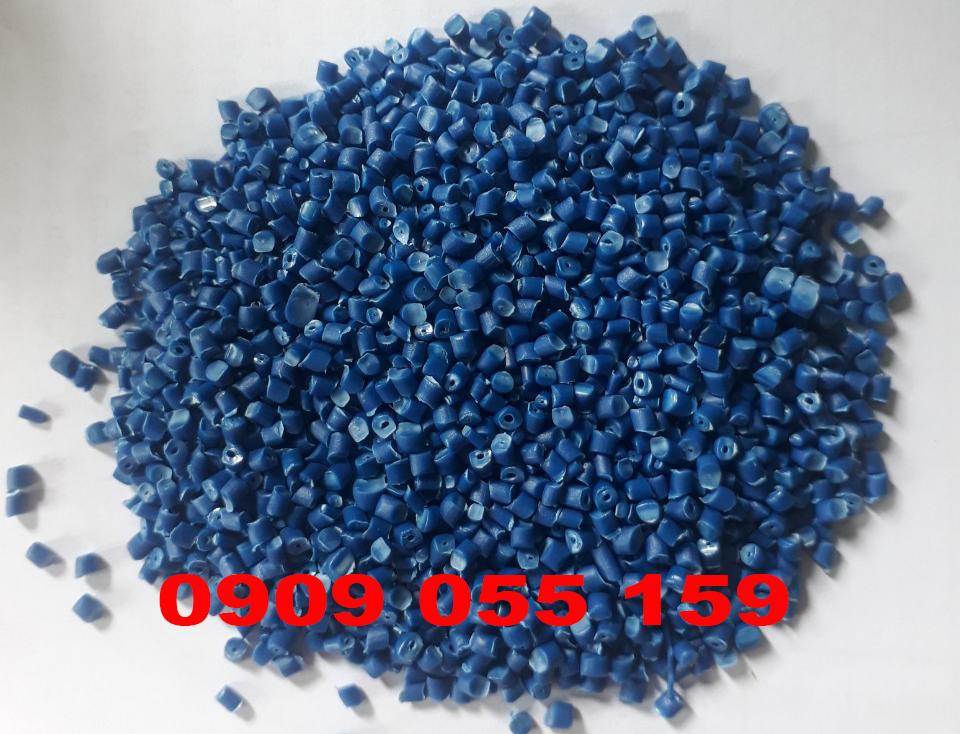 Hạt nhựa tái sinh HDPE xanh dương lô