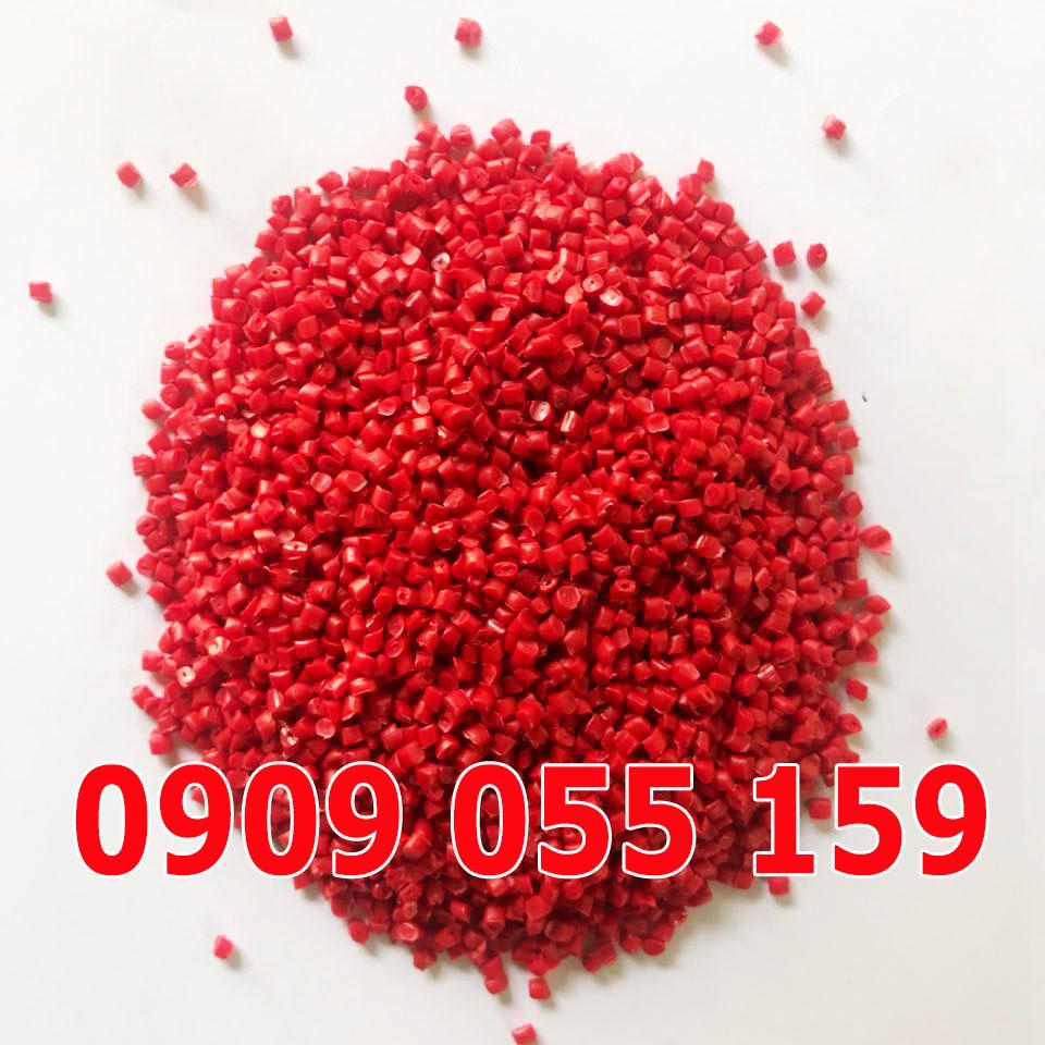 Hạt nhựa tái sinh HDPE đỏ tươi