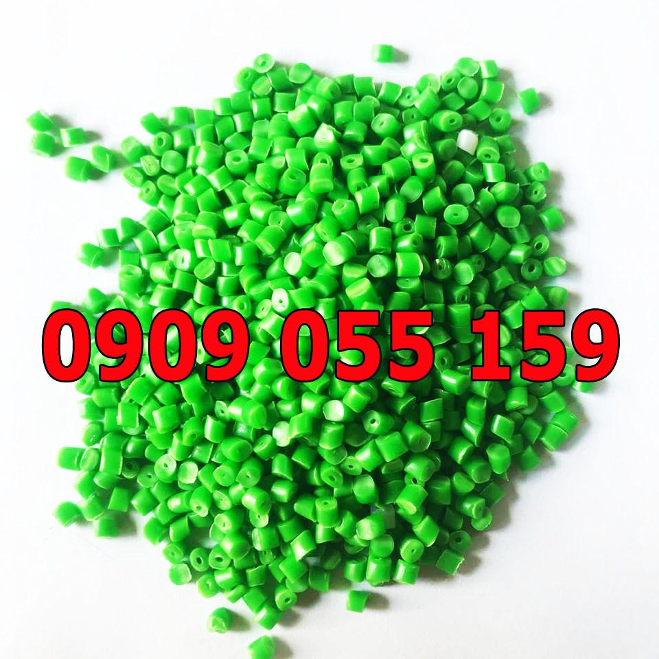 Hạt nhựa tái sinh HDPE xanh